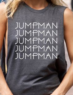 Jumpman Graphic Tee Completely by trendsettersrepublic on Etsy