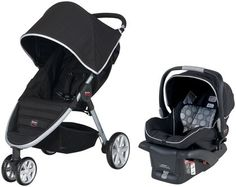 Britax B-Agile B-Safe TRAVEL SYSTEM - Black, Diapers.com $336 (stroller, car seat, car seat base)