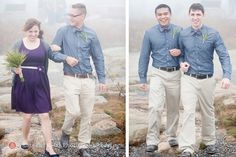 This was a wedding of ours, I like the colored shirt and the gray shoes. I like their lighter pants, but I don't think I want something that looks like khaki