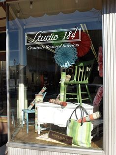 Stopped at this place in Stoughton today - awesome store. Studio 184 in Stoughton- Annie Sloan chalk paints and fabric!