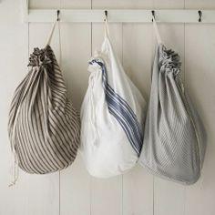 West Elm Market laundry bags