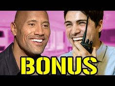 Ian & Anthony interviewed The Rock Himself Dwayne Johnson(Bonus)