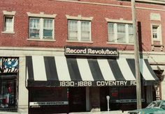 Old school record store