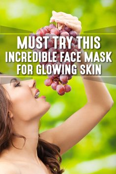 Must Try This Incredible Face Mask For Glowing Skin - Body Finest Beauty Care, Beauty Skin, Beauty Tips, Beauty Hacks, Eating Healthy, Healthy Food, Anti Aging Treatments, Great Life, Nice Body