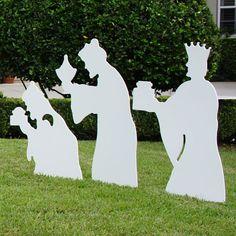 Large Three Wise Men Nativity Figures