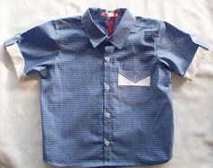 Camisa Infantil Xadrez! $75.00