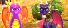 Spyro and Cynder in tLoS: Dawn of the Dragon