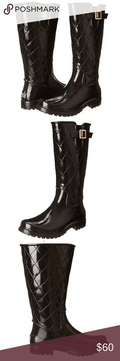 ☔️Sperry Quilted Rain Boot ☔️👢 Perfect for any season! These stylish rain boots will turn heads. Sperry Top-Sider Shoes Winter & Rain Boots