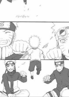 Naruto Uzumaki (Part Naruto Gaara, Comic Naruto, Sarada E Boruto, Naruto Anime, Naruto Shippuden Anime, Otaku Anime, Anime Manga, Uzumaki Family, Naruto Family