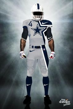 NFL Jerseys Nike - I want to become a NFL player for the Dallas Cowboys | Bucket list ...