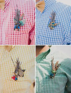 21 Cool Boutonnieres for Dapper Dudes via Brit + Co.
