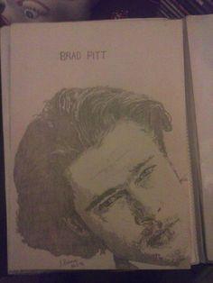 Brad Pitt Artist : Jackie Bateman