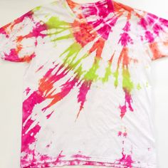 Craft ideas: Tie Dye Patterns Tutorial