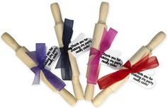 """Rolling Pin Party Favor  """"Savor Tradition & Create Memories with a Growi"""