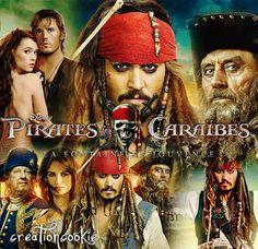 creationcookie: Posters Pirates des Caraibes et la Fontaine de Jouvence