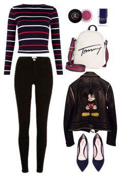 1 by alin-dee on Polyvore featuring мода, Philipp Plein, River Island, Tommy Hilfiger and Nails Inc.