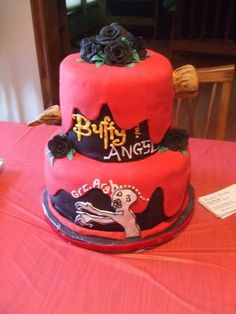Buffy The Vampire Slayer Cake...HOLY CRAP! I want it. Take note, friends...my 30th birthday is only 3 years away!