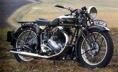 Triumph Model 6/1 Vertical Twin 650, 1935 / 648cc (chrome & black)