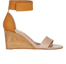 Gala Ankle-Strap Wedge Sandals