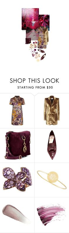 """""""Falling Leaves..."""" by sue-mes ❤ liked on Polyvore featuring Burberry, Vetements, Nicholas Kirkwood, Enigma, Sarah Chloe and Yves Saint Laurent"""