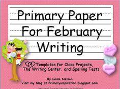 Primary Inspiration: February Writing Freebie