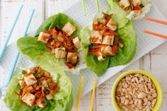 12 Weeknight Dinners for Picky Eaters: Chicken or Vegetarian Lettuce Wraps