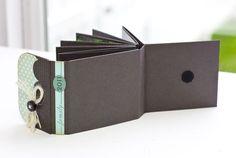 mini fold book: tutorial; good blog!