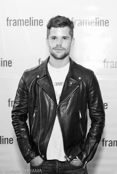 Leather biker jacket Leather Fashion, Leather Men, Mens Fashion, Black Leather Biker Jacket, Leather Jackets, Urban Male, Charlie Carver, Hommes Sexy, Piece Of Clothing