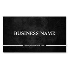 Grunge Dark Piano Teacher Business Card Template