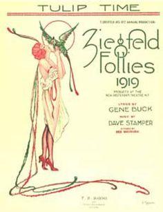Vintage 1919, Ziegfeld Follies, NYC, www.RevWill.com