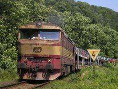 Motorová Lokomotiva 751.065-4 ČD