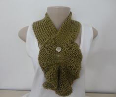 Cachecol-Gola de tricô — Muitas Artes