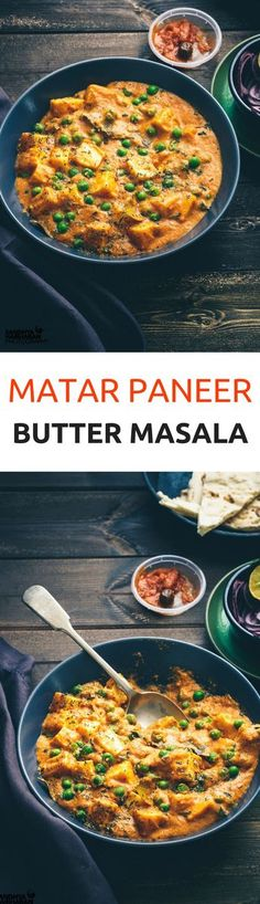 Hands Down,This is one of the BEST Matar Paneer Butter Masala that can be made at home in less than 30 Minutes. And Yes this recipe doesn't call for any Onions too.