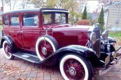 1931 Chevrolet Deluxe 4-Door Sedan