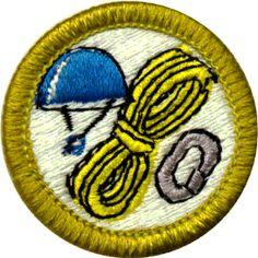 Boy Scouts of America Climbing Merit Badge