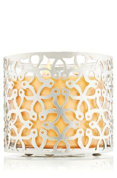 Exotic Flowers 14.5 oz. 3-Wick Candle Sleeve - Slatkin  Co. - Bath  Body Works