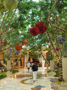 Wynn Hotel lobby, Las Vegas
