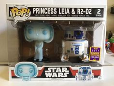 Funko POP! Star Wars PRINCESS LEIA & R2D2 SDCC 2017 Summer Con Exclusive 2 Pack | eBay