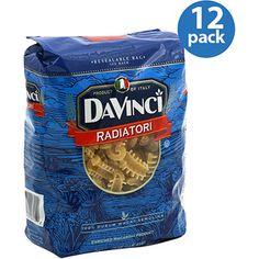DaVinci Radiatori Pasta, 16 oz, (Pack of 12)