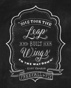 Love this! Great quote, great typography.