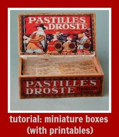 how to: miniature boxes