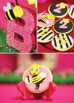 Bright & Sassy Queen Bee Party {Pink & Yellow}