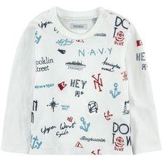 T-shirt in jersey di cotone - 132101