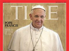 Pope Francis is third pope to win Time's Person of the Year honor