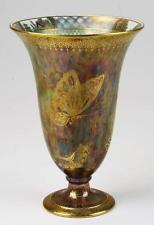 Wedgwood Fairyland Lustre Butterfly Trumpet Vase with Oriental Landscape Panels