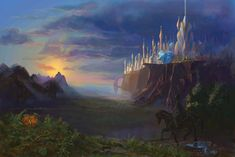 "Based on the fantasy novels written by Roger Zelazny ""The Chronicles of Amber"". Done for university."
