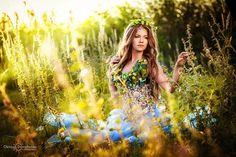 Фотограф, визажист, костюм Лесной нимфы: Олеся Дороженко.