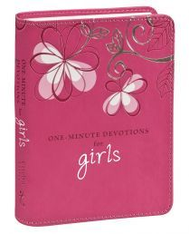 Christian Art Gifts 364799 One Minute Devotions For Girls One Minute Devotions Pink Luxleather Tween Gifts, Gifts For Kids, Father And Girl, Christian Art Gifts, Christian Faith, Simple Prayers, Book Categories, Ribbon Bookmarks, Page Marker