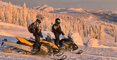 Snowmobiling | West Yellowstone