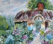 Serenity Garden  by Therese Vahland